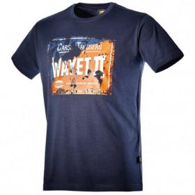 DIADORA GRAPHIC DENIM BLUE T-shirt 1