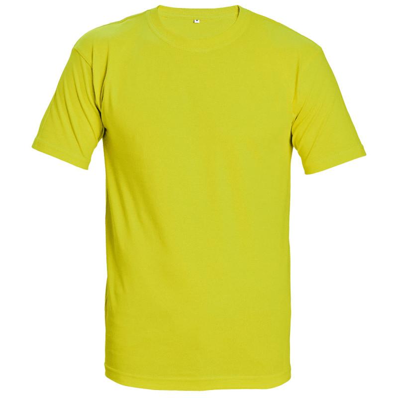 TEESTA FLUORESCENT GREEN High visibility t-shirt