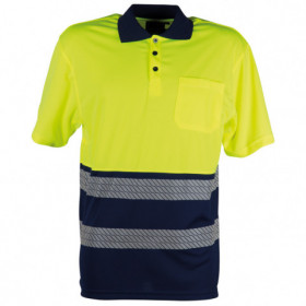 GLOW HV YELLOW High visibility polo t-shirt