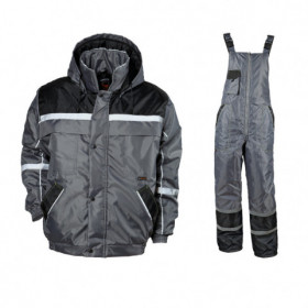 COLLINS WINTER GREY Work set