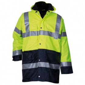 PAROS 3 in 1 YELLOW High visibility parka 1