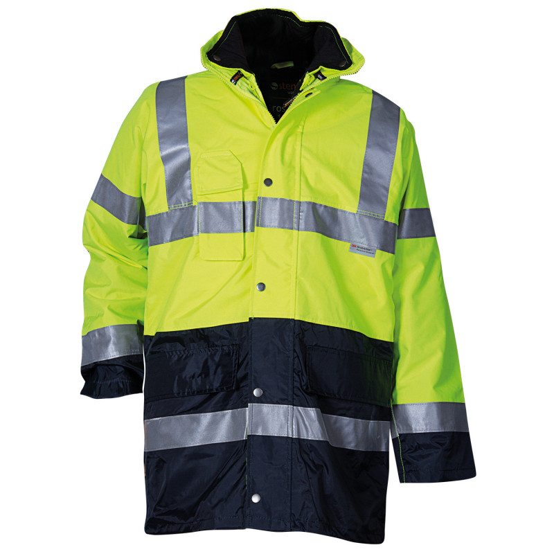 PAROS 3 in 1 YELLOW High visibility parka
