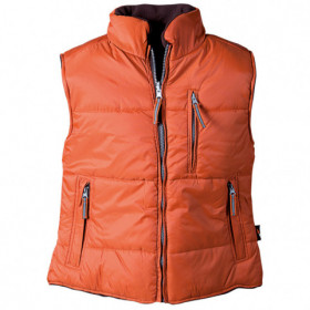 ROSEVILLE ORANGE Padded vest