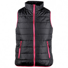 FLASH BLACK/PINK Lady's vest 1
