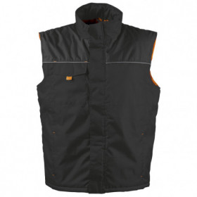 LANOS BLACK/ORANGE Work vest