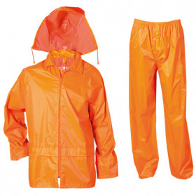CARINA ORANGE Waterproof suit