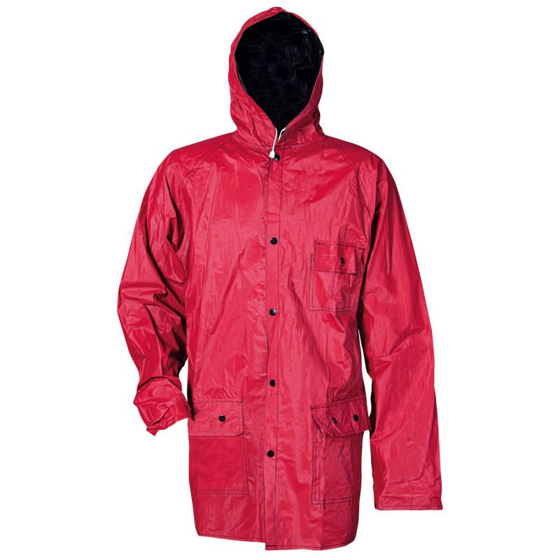 RONY RED/BLACK Waterproof jacket
