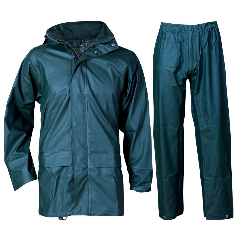 STORMER GREEN Waterproof suit