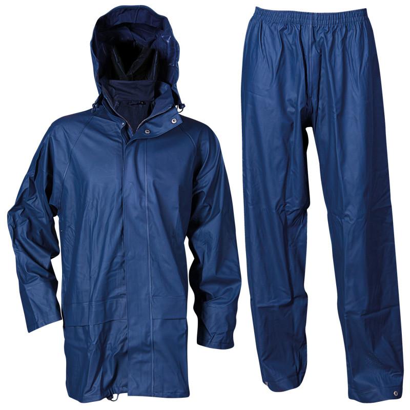 STORMER NAVY Waterproof suit