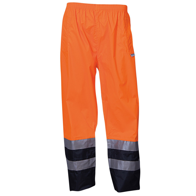 EPPING ORANGE High visibility waterproof trousers