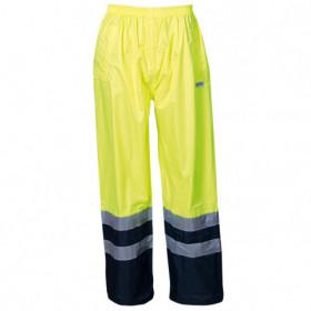 EPPING YELLOW High visibility waterproof trousers