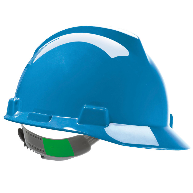 Защитна каска до 440V V-GARD BLUE