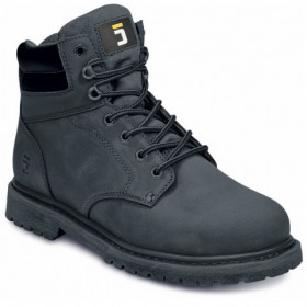 BK FARMER ANKLE BLACK Nubuck shoes 1