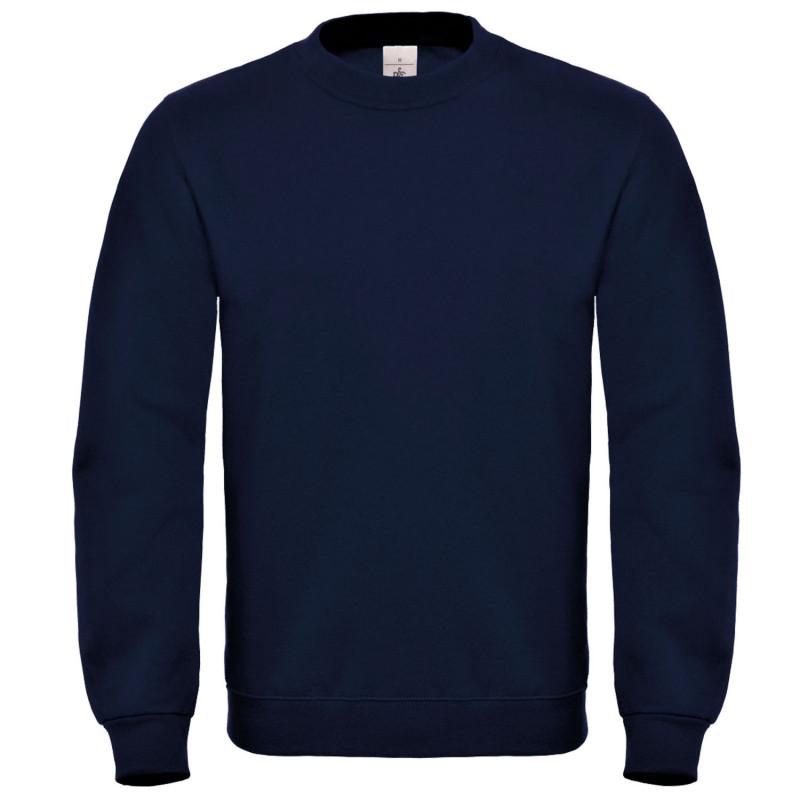 Блуза с дълъг ръкав B&C NAVY BLUE