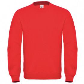 Блуза с дълъг ръкав B&C RED