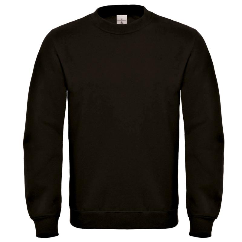 Блуза с дълъг ръкав B&C BLACK