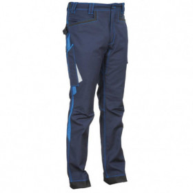 BARRERIO NAVY BLUE Work trousers