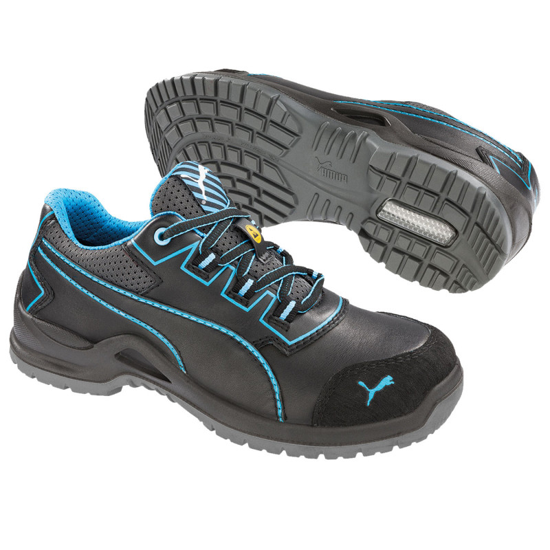 PUMA NIOBE BLUE WNS LOW S3 ESD SRC Safety shoes