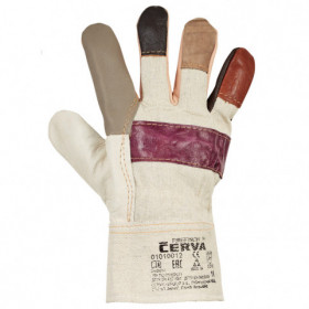 FIREFINCH Leather and textile gloves