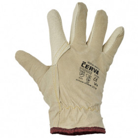 HERON WINTER Full leather winter gloves 1