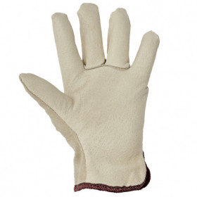 HERON WINTER Full leather winter gloves 2