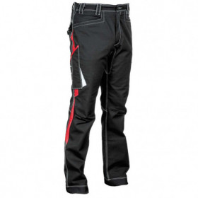BARRERIO BLACK Work trousers