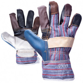 ROBIN 2.0 Leather and textile gloves
