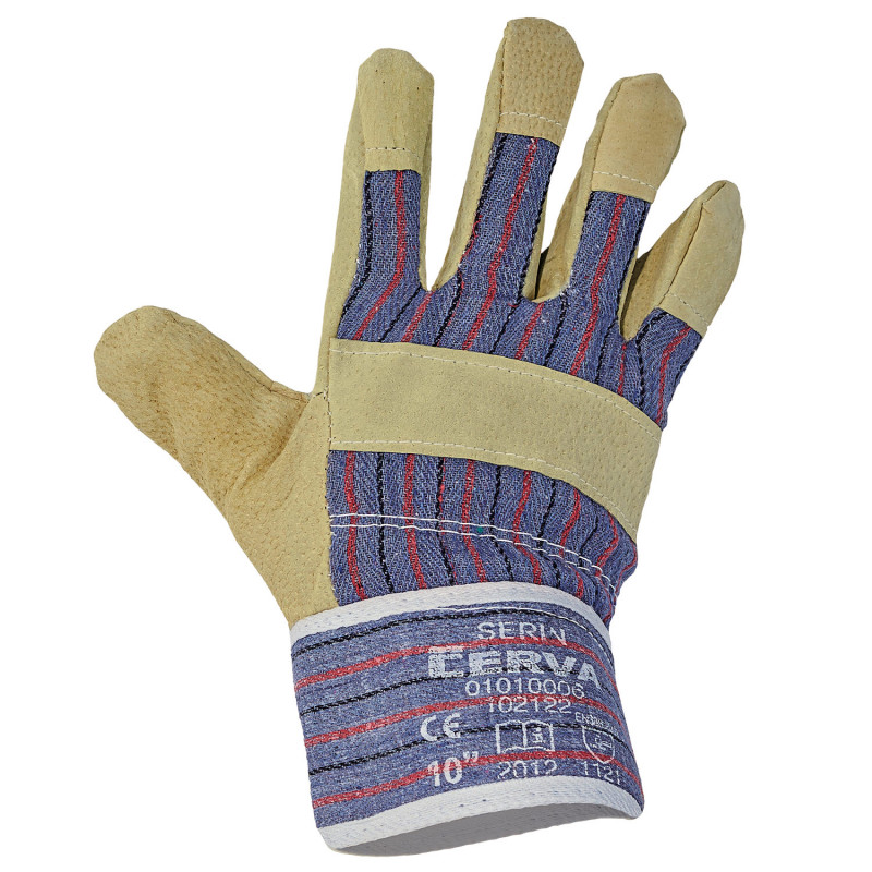 SERIN Leather and textile gloves