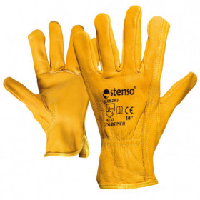 GOLDFINCH Full leather gloves