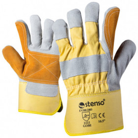 GOBI Leather and textile gloves