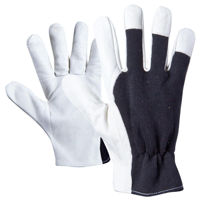 ZUMA Leather and textile gloves