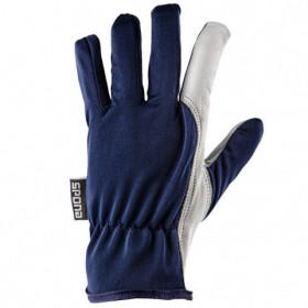 GILT AGAZ Leather and textile gloves 1