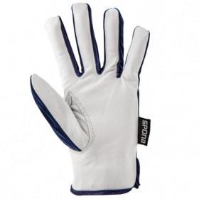 GILT AGAZ Leather and textile gloves 2