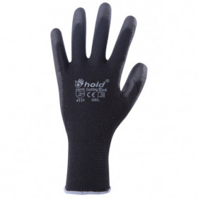 BUNTING BLACK Polyurethane dipped gloves