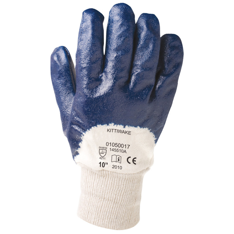 KITTIWAKE Nitrile dipped gloves