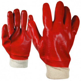 REDPOL PVC dipped gloves