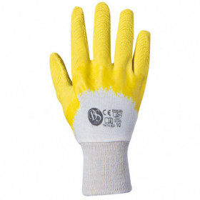 BS TWITE ECO Latex dipped gloves 1