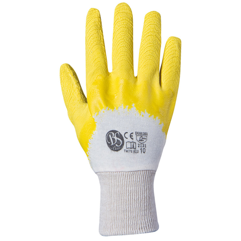 BS TWITE ECO Latex dipped gloves