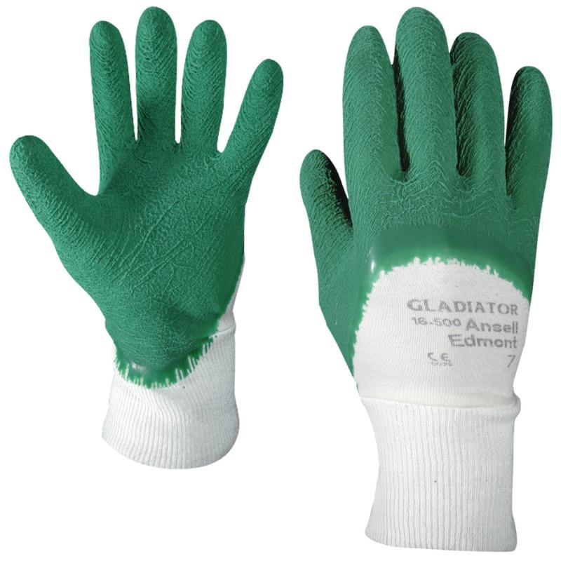 Ръкавици топени в каучук GLADIATOR