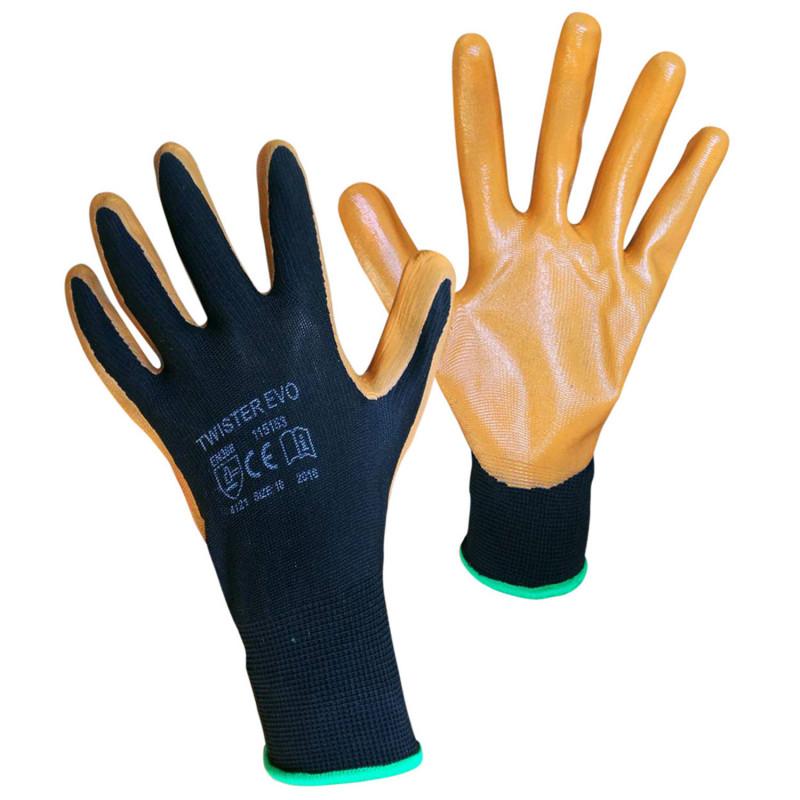 TWISTER EVO Nitrile dipped gloves