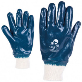 DUBIUS Nitrile dipped gloves