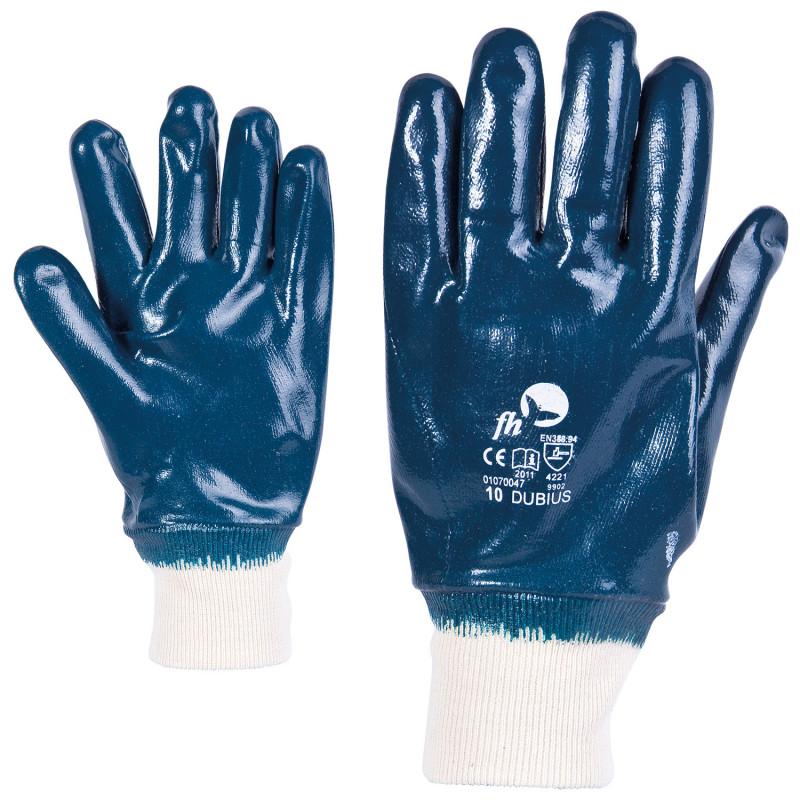 Ръкавици топени в нитрил DUBIUS