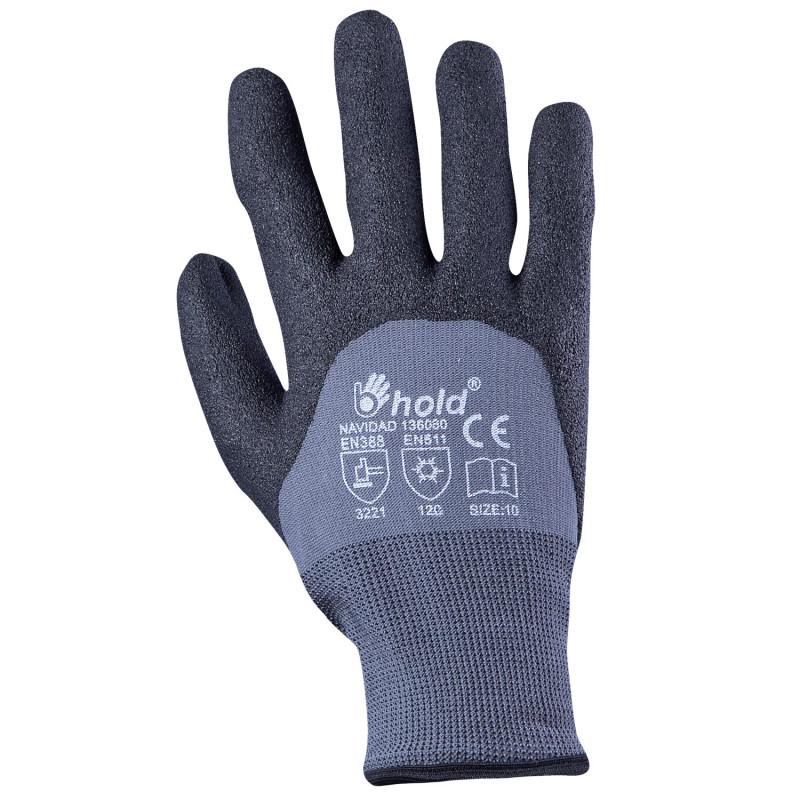 Студозащитни ръкавици топени в PVC NAVIDAD