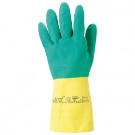 ALPHA TEC Latex/neoprene gloves