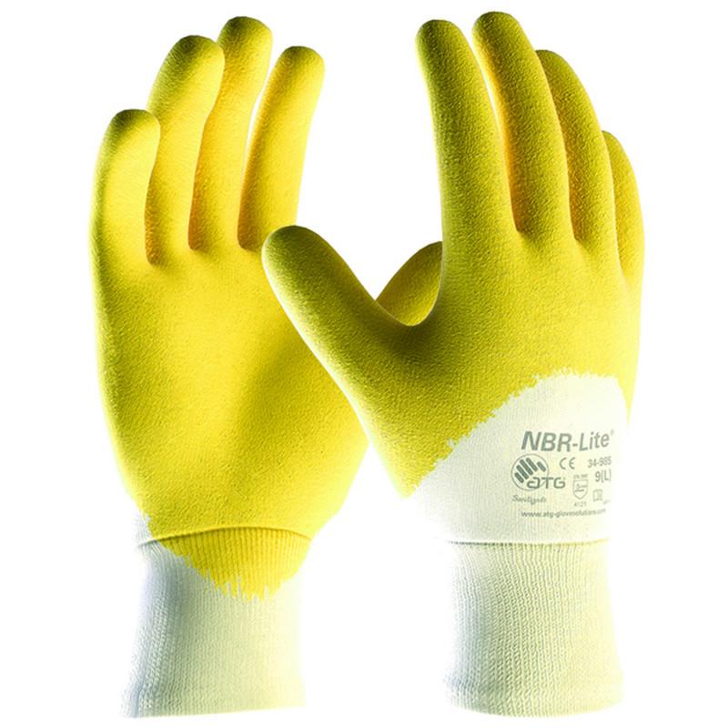 ATG NBR-LITE Nitrile dipped gloves