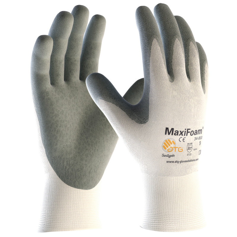 ATG MAXIFOAM Nitrile dipped gloves