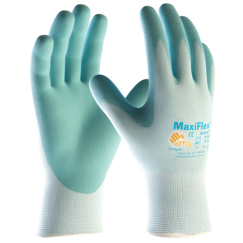 ATG MAXIFLEX ACTIVE Nitrile dipped gloves