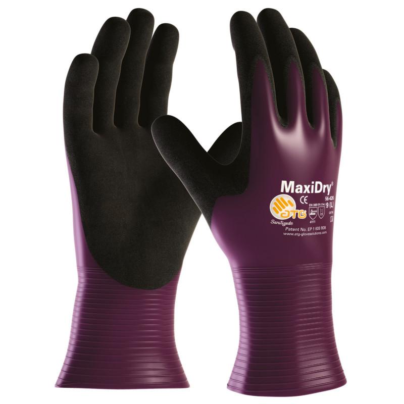 Ръкавици от нитрил ATG MAXIDRY LARGE
