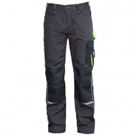 PRISMA GREY/GREEN Work trousers
