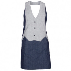 DENIM Bib apron 1